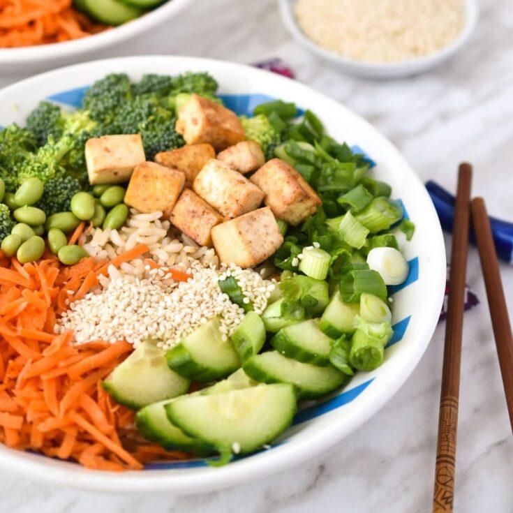 Tantalizing Teriyaki Bowls with Tofu