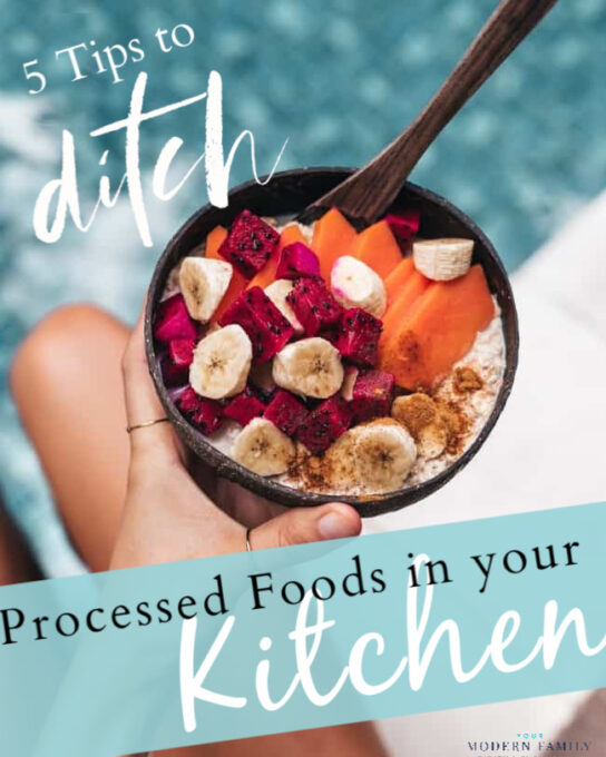 how to get rid of processed food