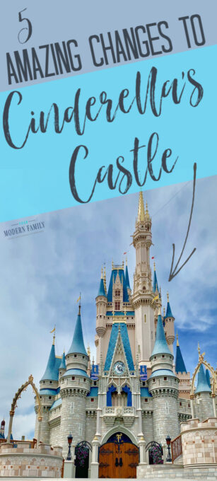 5 Must-See changes to Cinderella's Castle!