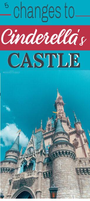 5 changes to Cinderella's Castle at Disney