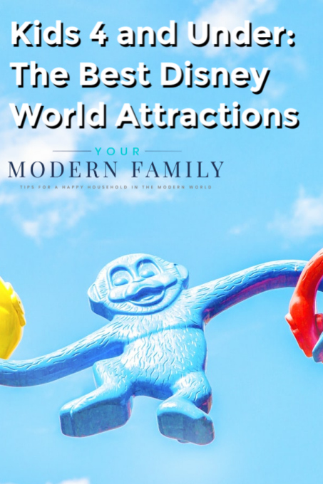Kids 4 and Under: The Best Disney World Attractions