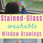 Stained Glass Window Drawings for Kids