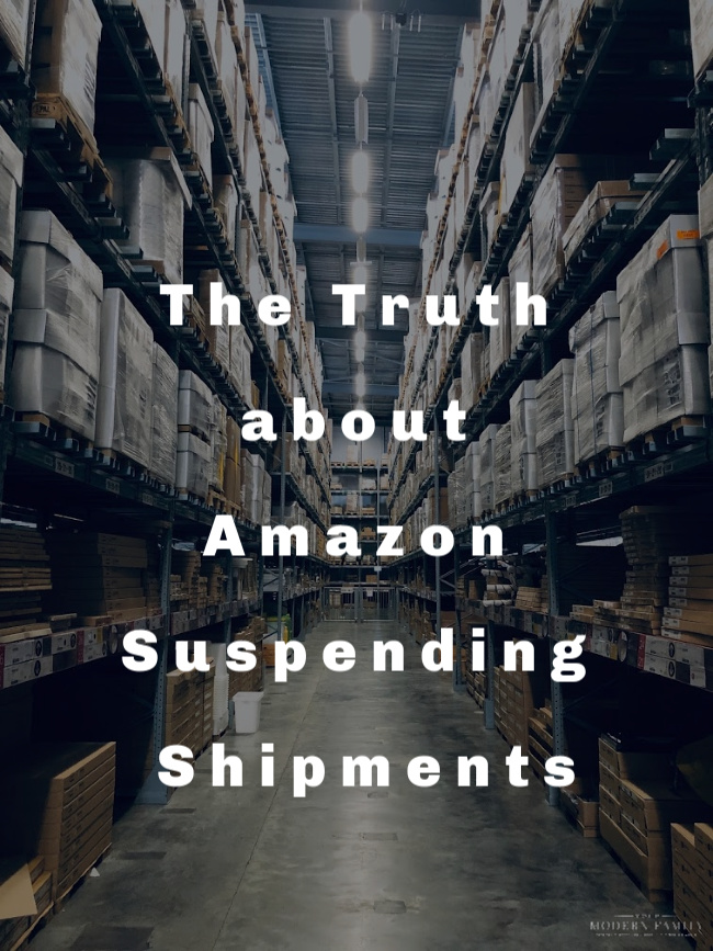 The Truth about Amazon Suspending Shipments