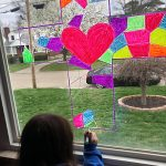 STAINED GLASS WITH WINDOW CHALK