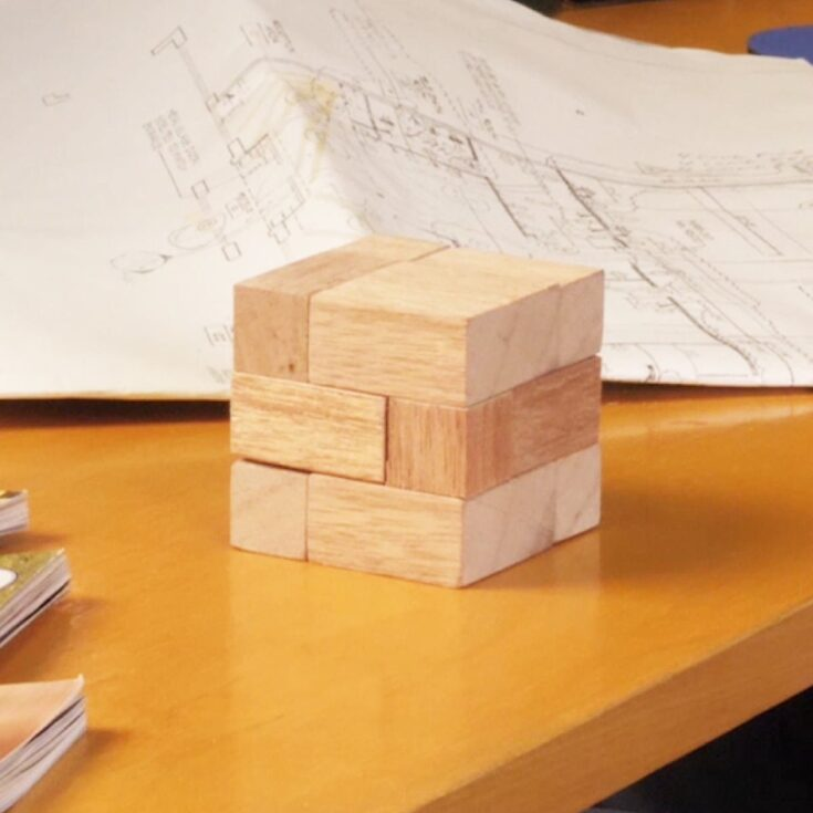 Make a Wood Puzzle Cube