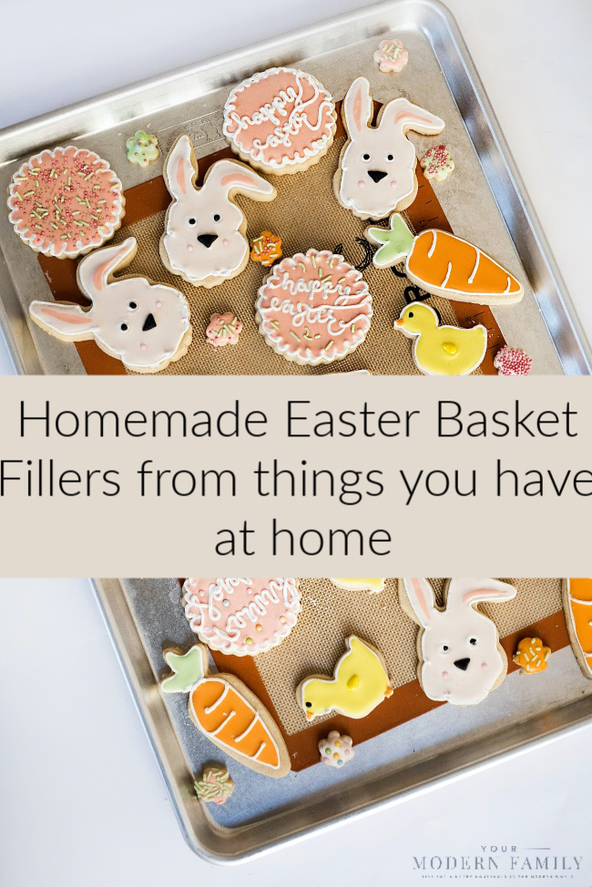 Make Homemade Easter Baskets Gifts
