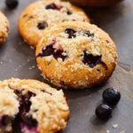 Homemade Blueberry Muffins that are simple to make!