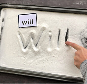 writing in sugar