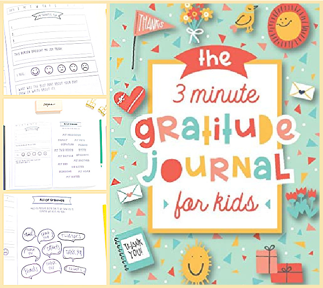 3-minute gratitude journal