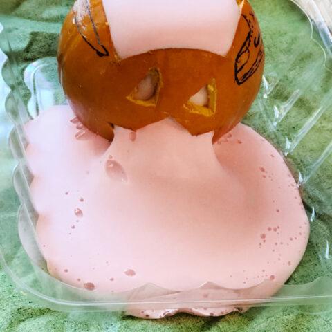 pumpkin oozing