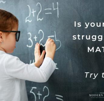 struggling in math