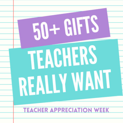 These Teacher Appreciation Week Gifts & Ideas are perfect!