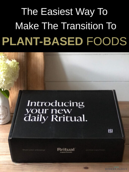 Rritual Superfoods makes it an easy transition to plant based foods