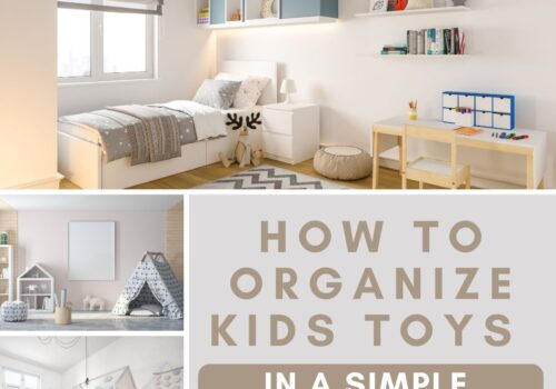 how to organize kids toys