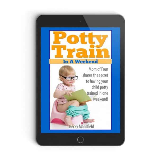 Potty Train In A Weekend Cover