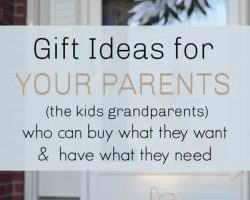 Meaningful Gifts for your parents